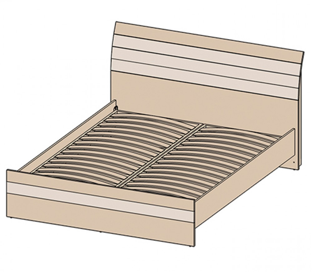 Кровать КЛ-001-1 (160)